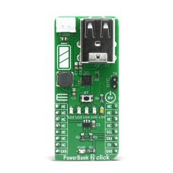 Shop Click Boards Power Management Battery charger PowerBank 2 Click Front