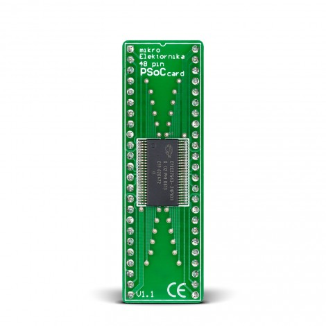 MCU board with PSoC CY8C27643 Microcontroller