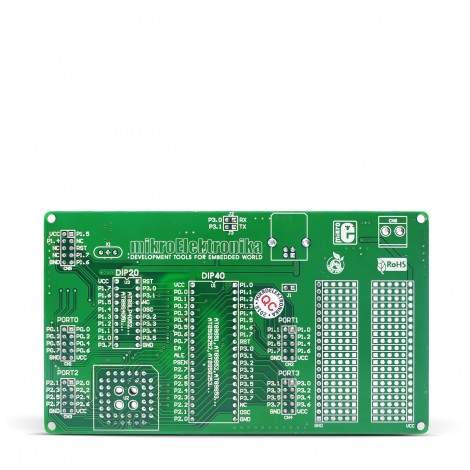 8051-Ready Board back
