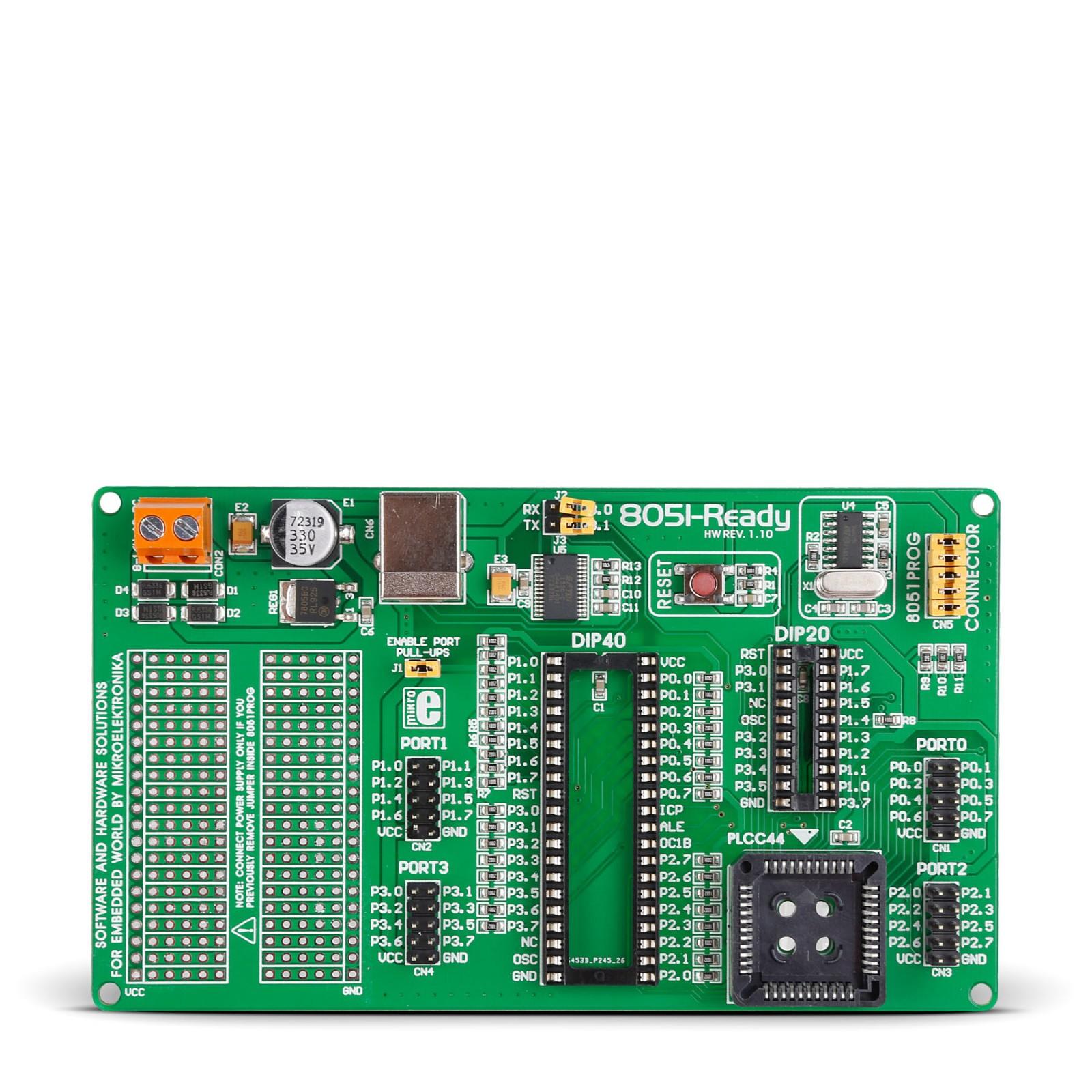 8051-Ready Board - MikroElektronika