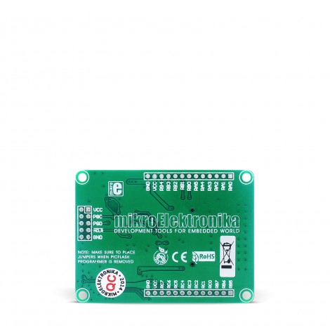 Mikroe MMC Ready Board back