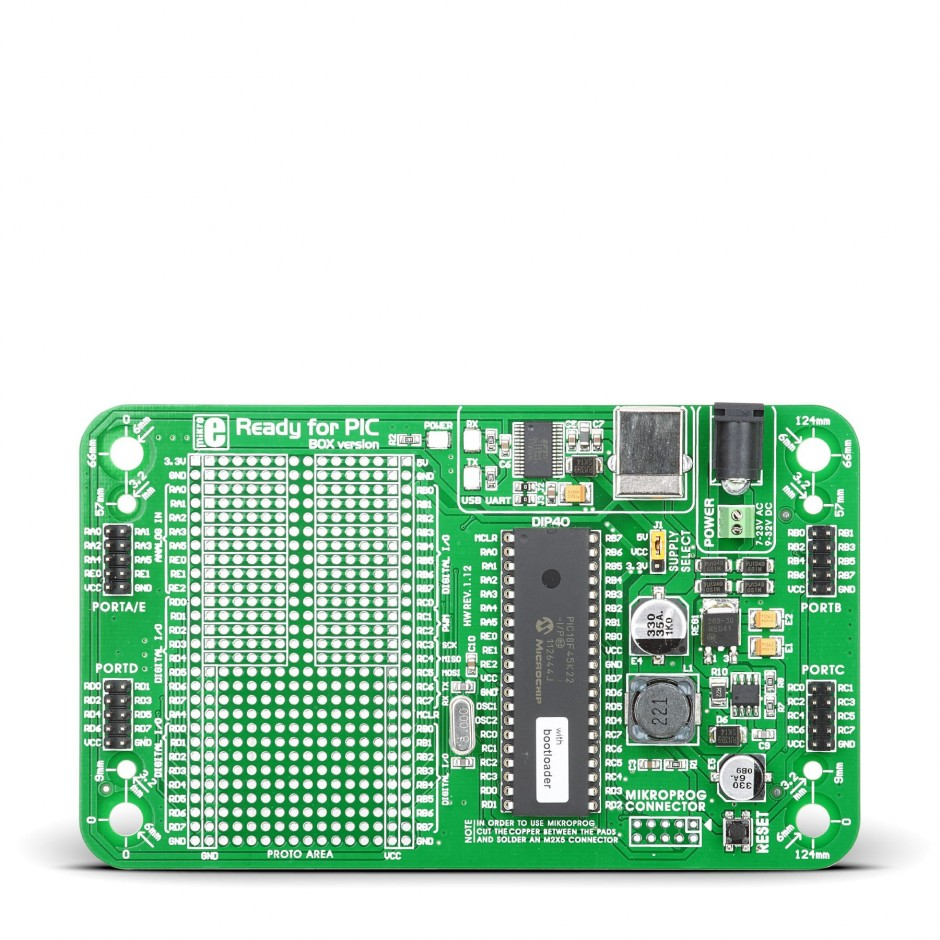 Ready For Pic 40 Pin Development Board With Pic18f45k22 Needed Electronics Forum Circuits Projects And Microcontrollers Tap To Expand