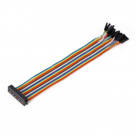 Ribbon Cable 26-wire, Female IDC/Female, 20 cm