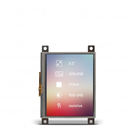 "Riverdi Display 3.5"" Res front"