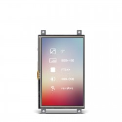 "Riverdi Display 5"" Res"