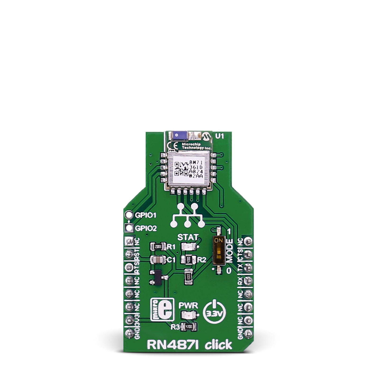 rn4871 click board mikroelektronika module arduino bluetooth easy bluetooth shield 5 steps (with