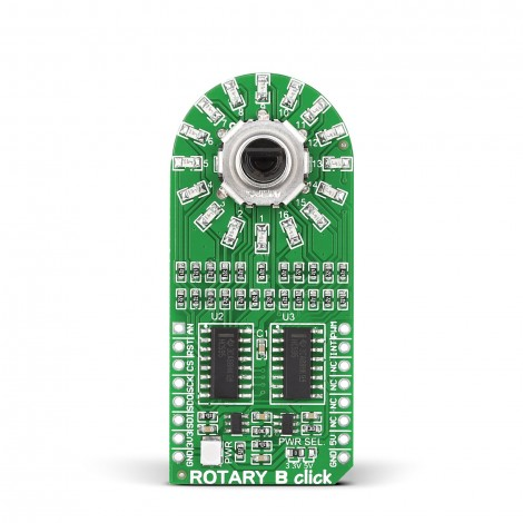 Mikroe Human-Machine Interface ROTARY B Click front