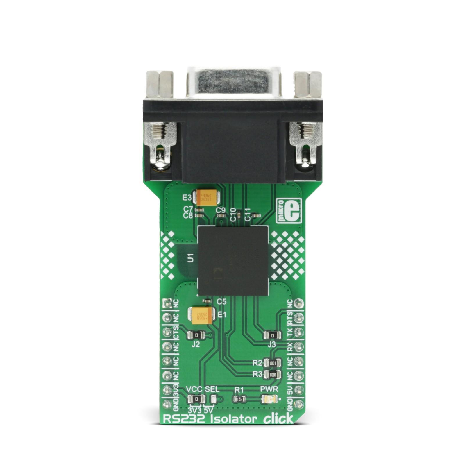 RS232 Isolator click   MikroElektronika