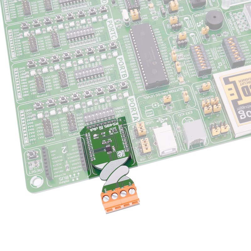 RS485 2 click - board with MAX3471 transceiver | MikroElektronika
