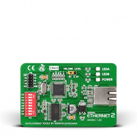 MikroE Serial Ethernet 2 Board