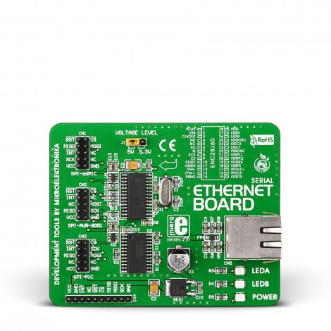 MikroE Serial Ethernet Board