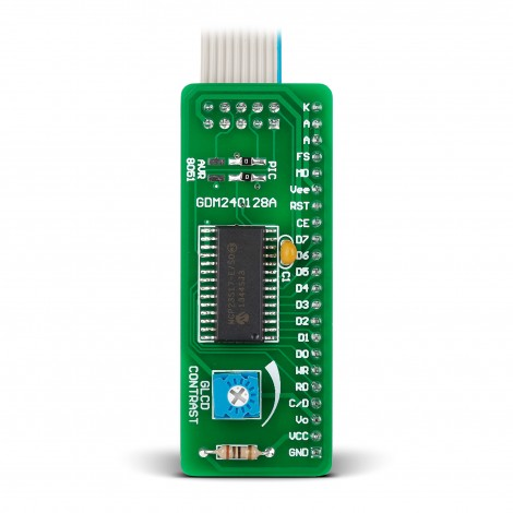 Serial GLCD 240x128 Adapter Board