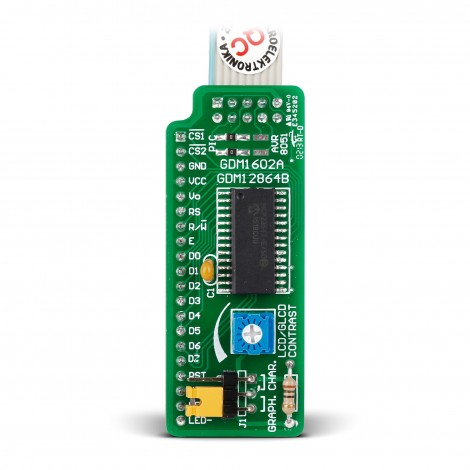 Serial LCD/GLCD Adapter Board