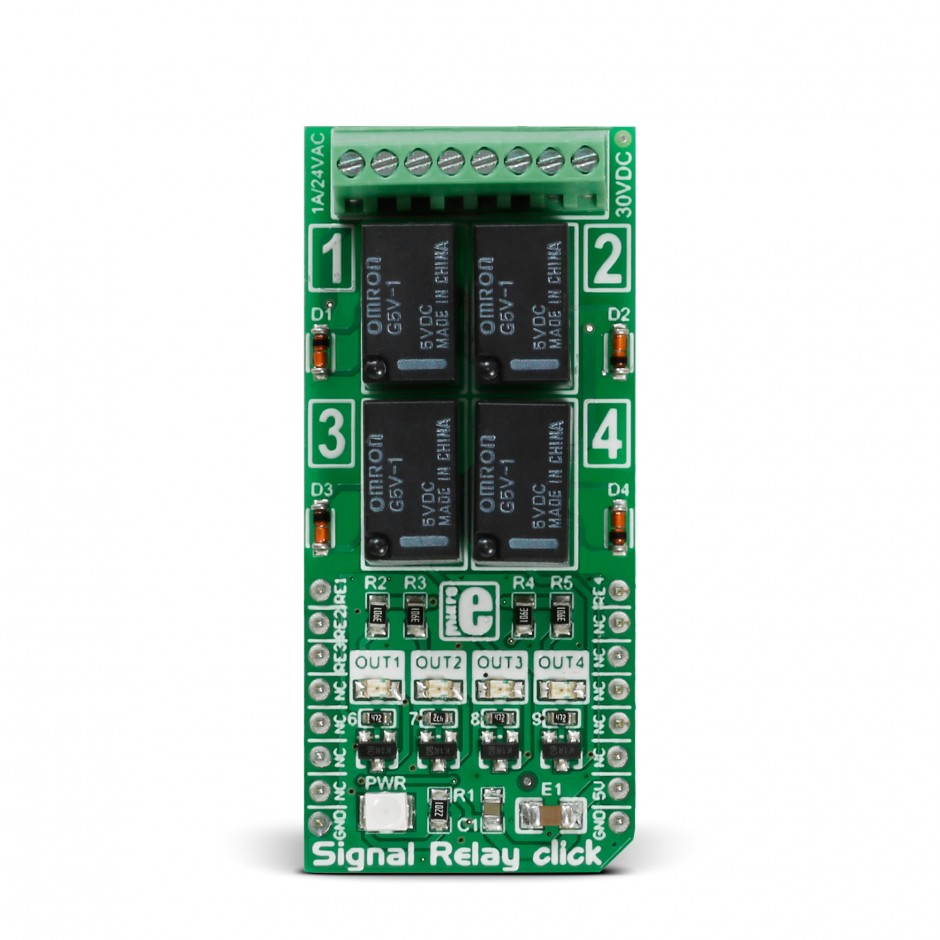 Signal Relay Click Board With G5v 1 Low Current Price