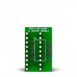 SOIC-18-Wide to DIP18-300mil Adapter