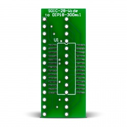 SOIC-28-Wide to DIP28-300mil Adapter