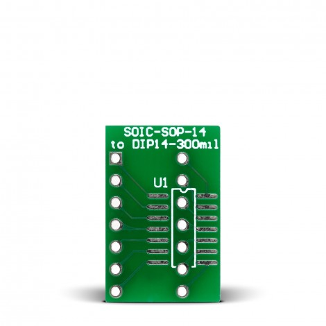 SOIC-SOP-14 to DIP14-300mil Adapter
