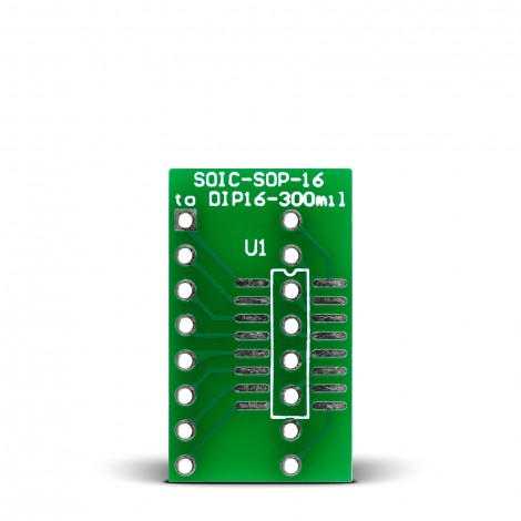 SOIC-SOP-16 to DIP16-300mil Adapter