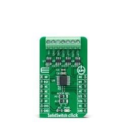 Shop Click Boards Miscellaneous Relay SolidSwitch Click Front