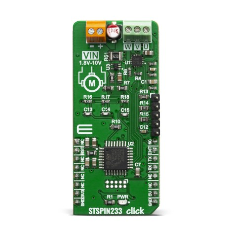 Shop Click Boards Motor Control Brushless STSPIN233 Click Front