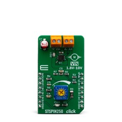 Mikroe Click Boards Motor Control STSPIN250 click front
