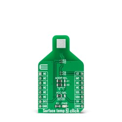 Shop Click Boards Sensors Temperature & humidity Surface Temp 2 Click Front