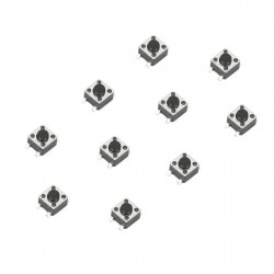 Tact Switch 4.5x4.5mm SMD (10pcs)
