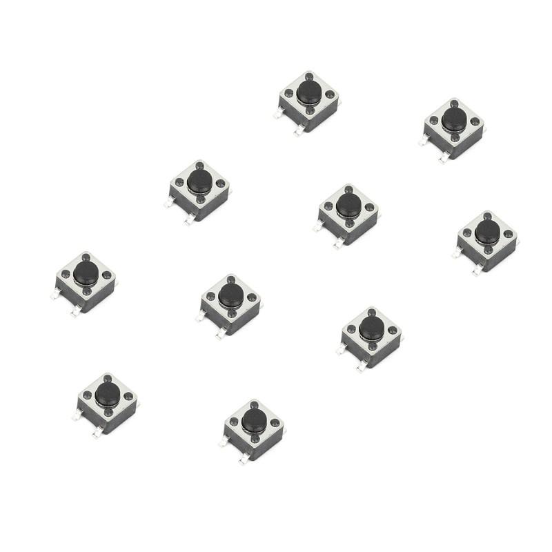 tact switch 4 5x4 5mm smd  10pcs