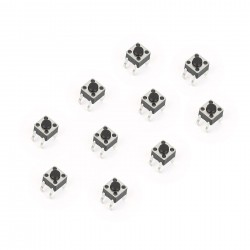 Tact Switch 4.5x4.5mm TH (10pcs)
