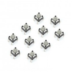 Tact Switch 6x6mm (10pcs)