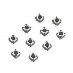 Tact Switch 6x6mm SMD (10pcs)