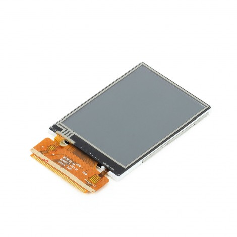 "MikroElektronikas 2.8"" TFT Color Display with Resistive Touch Screen"