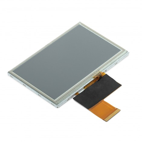"MikroElektronikas 4.3"" TFT Color Display with Resistive Touch Screen"