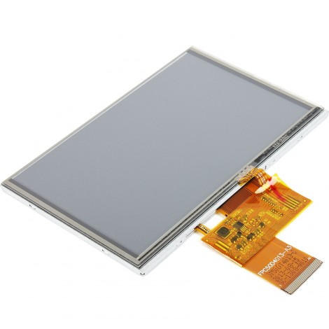 "MikroElektronikas 5"" TFT Color Display with Resistive Touch Screen"