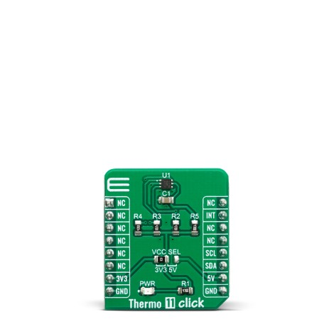 Click Boards Sensors Thermo 11 Click Front
