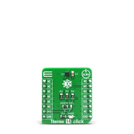 Shop Click Boards Sensors Temperature & humidity Thermo 14 Click Front