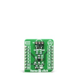 Click Boards Sensors Temperature & humidity Thermo 17 Click front
