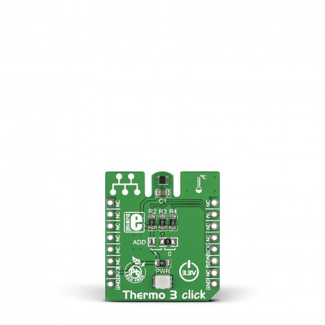 MikroE Sensors Thermo 3 click front