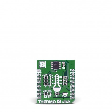 MikroE Sensors THERMO 4 click front