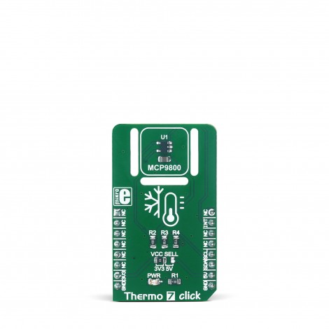 MikroE Sensors Thermo 7 click front