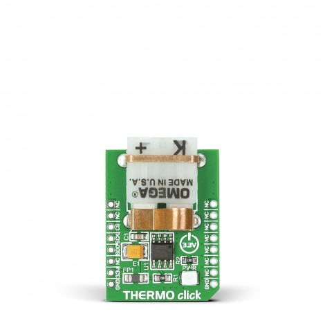 MikroE Sensors THERMO click front