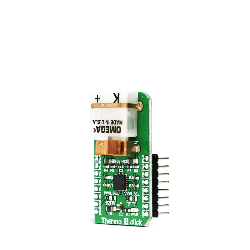 THERMO K click — board with MCP9600 IC from Microchip