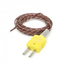 Thermocouple Type-K Glass Braid Insulated