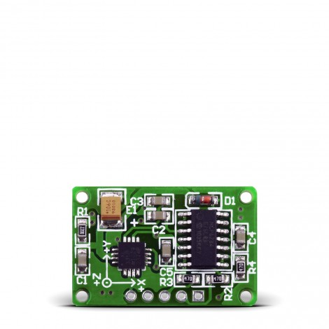 Three-Axis Accelerometer Board