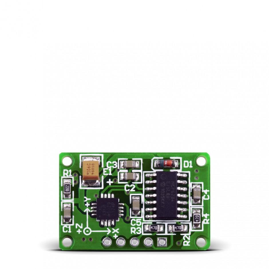 accel board breakout board for adxl330 3 axis accelerometer