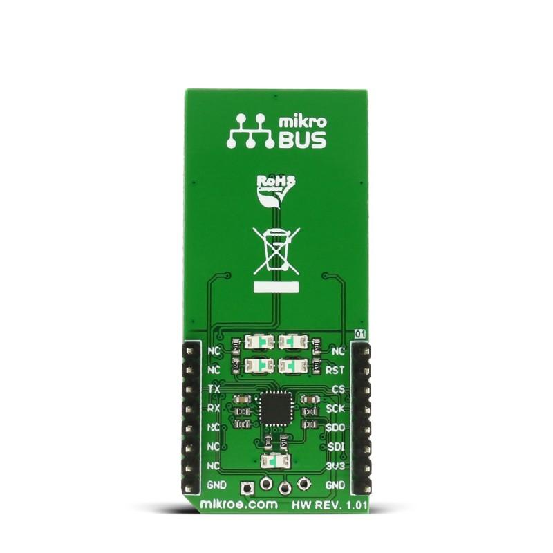 Touchkey 2 Click Board With Attiny817 Form Atmel