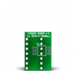 TSSOP-SSOP-14 to DIP14-300mil Adapter
