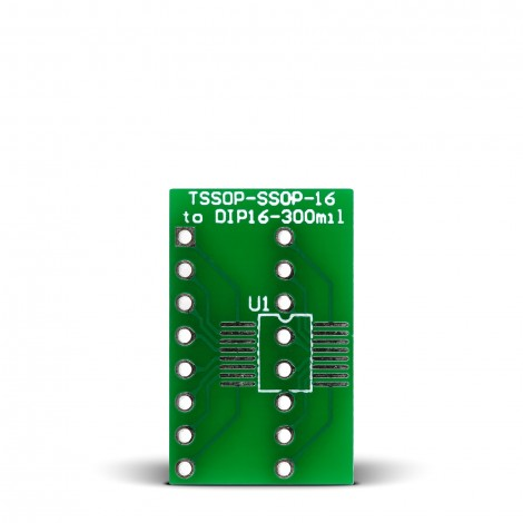 TSSOP-SSOP-16 to DIP16-300mil Adapter