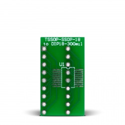 TSSOP-SSOP-18 to DIP18-300mil Adapter
