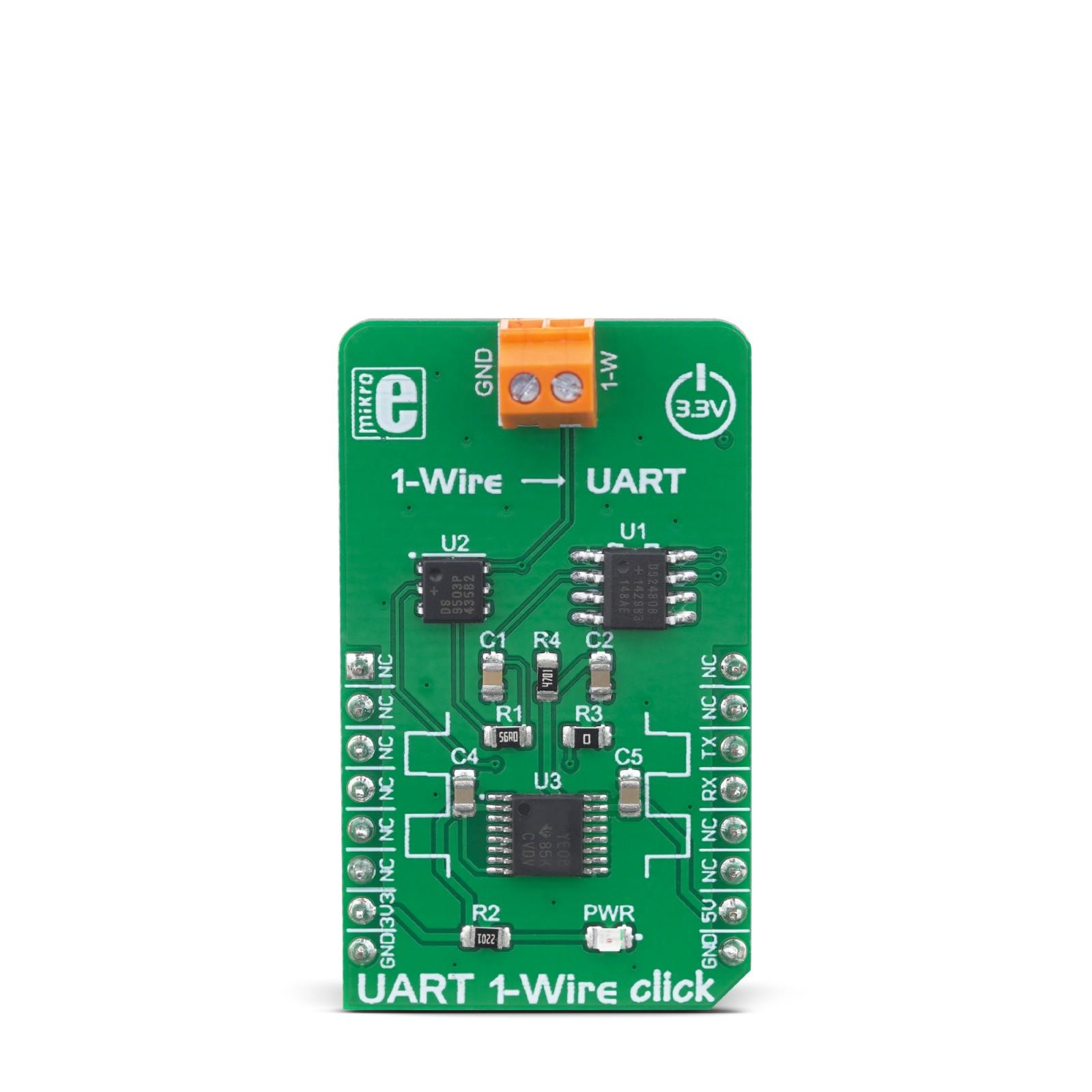UART 1-Wire Click | MikroElektronika